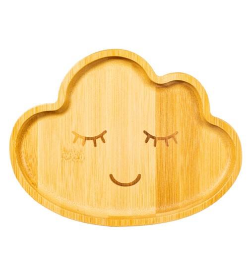 """Bambus-Teller """"Wolke"""""""
