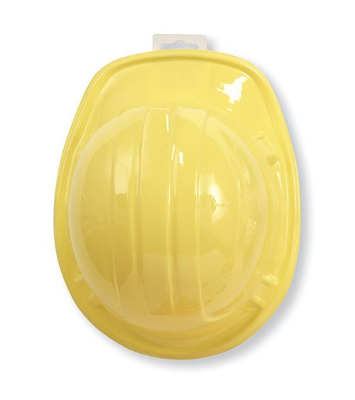 Bauarbeiterhelm aus Plastik für Kinder