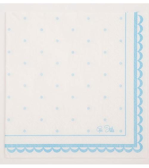"""Servietten """"Petit Blue"""" - 16 Stück"""