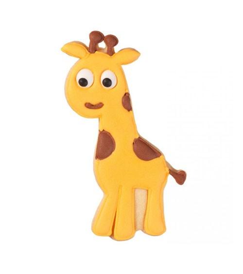 """Ausstechform mit Innenprägung """"Giraffe"""" - 11,5 cm"""