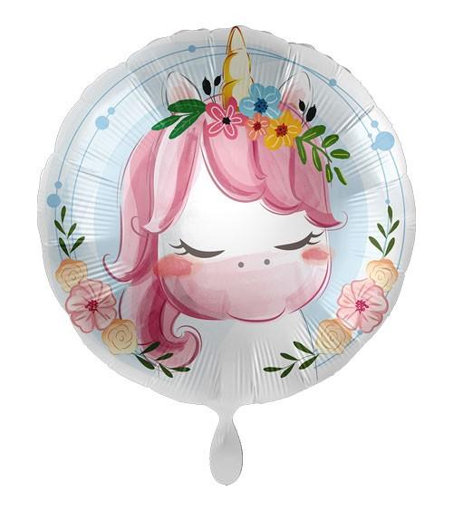 "Folienballon ""Cute Unicorn"""