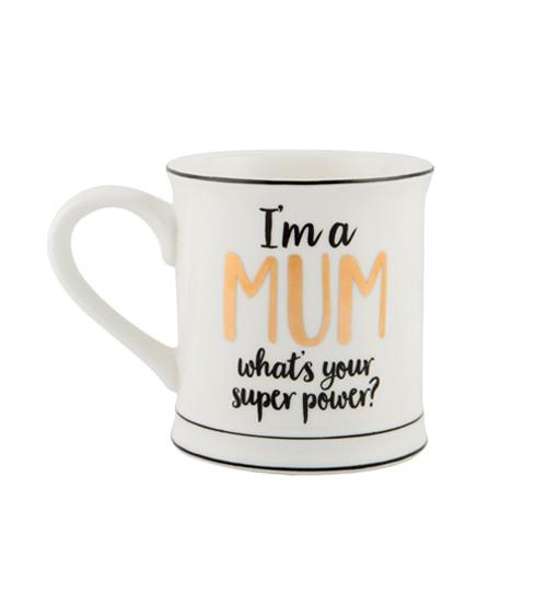 "Tasse aus Porzellan ""I'm a Mum"""