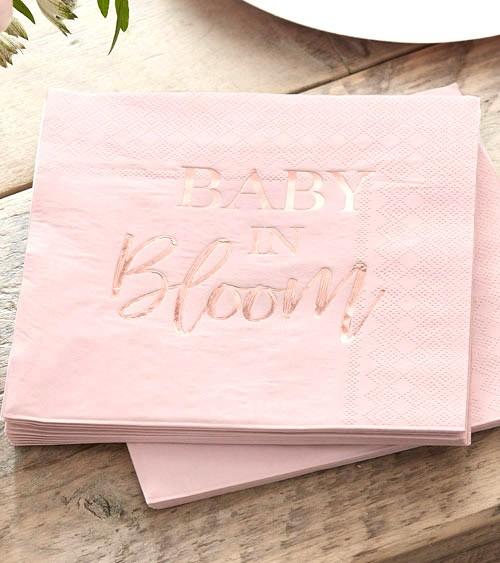 """Servietten """"Baby in Bloom"""" - 16 Stück"""