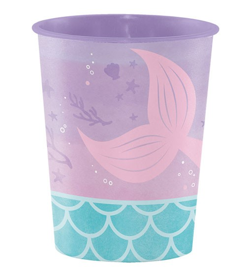 "Plastikbecher ""Mermaid Shine"""