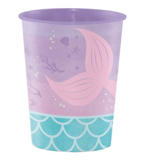 "Plastikbecher ""Mermaid Shine"""