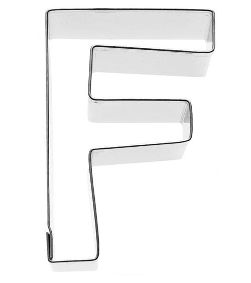 Ausstechform Buchstabe F - 6 cm