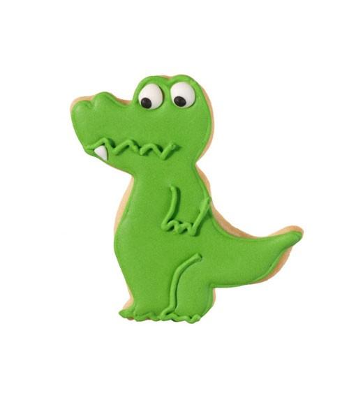 "Ausstechform mit Innenprägung ""Krokodil"" - 8 cm"