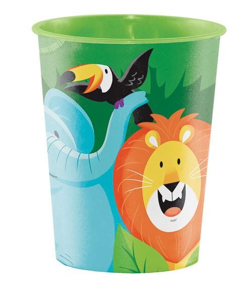 "Plastikbecher ""Dschungel Safari"""
