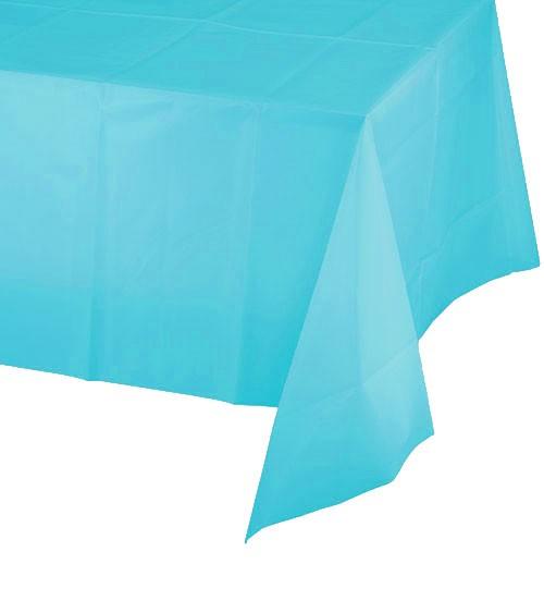 Plastiktischdecke - bermuda blue