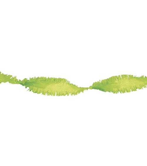 Drehgirlande 6 m - hellgrün
