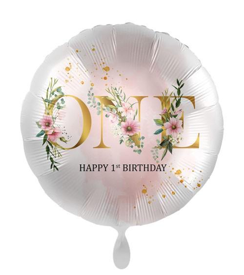 "Folienballon ""ONE Floral"""