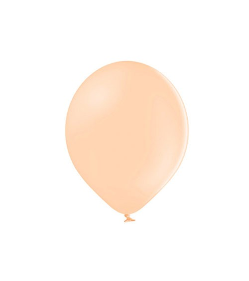 Mini-Luftballons - pastell pfirsich - 12 cm - 100 Stück