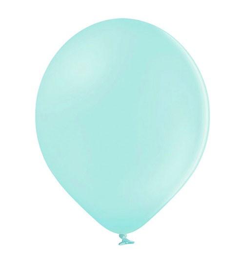 Standard-Luftballons - pastell mint - 30 cm - 10 Stück