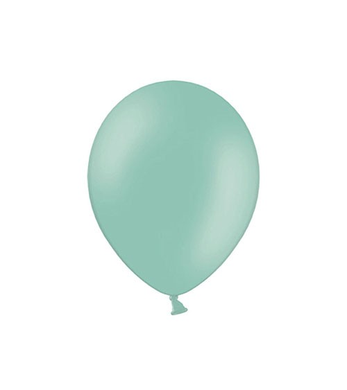 Mini-Luftballons - mintgrün - 12 cm - 100 Stück