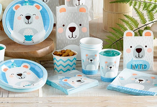 Baby Shower Deko für Jungs | Deko-Serien | Babyparty | Baby Belly Party