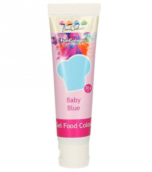 FunCakes Colour-Gel - baby blue - 30 g