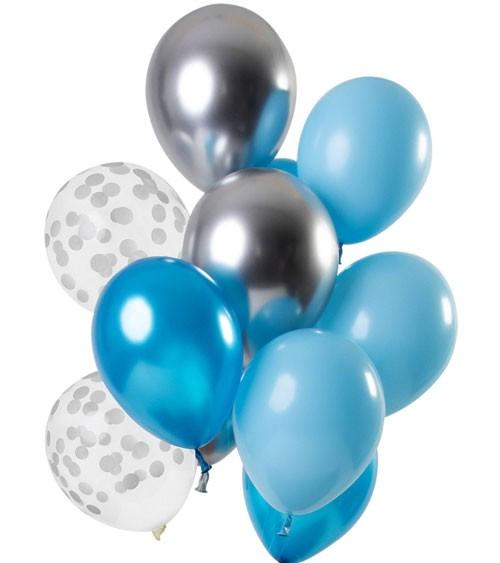 "Luftballon-Set ""Aquamarin"" - 12-teilig"