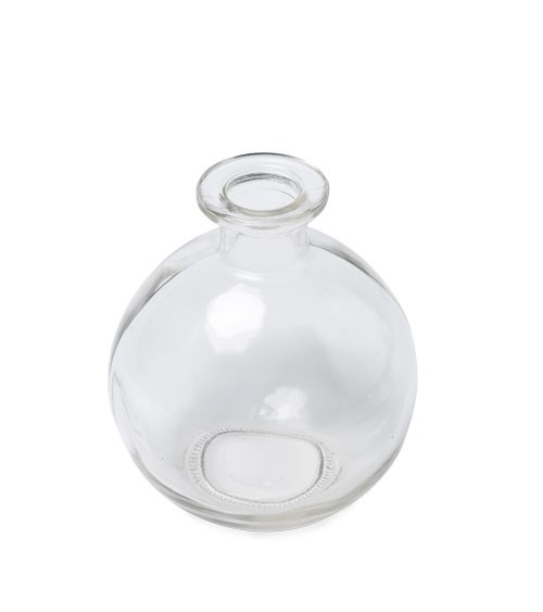 Glaskugelvase - 8 x 10 cm