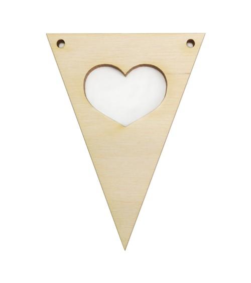 Dein Dreieck-Wimpel mit Wahlmotiv