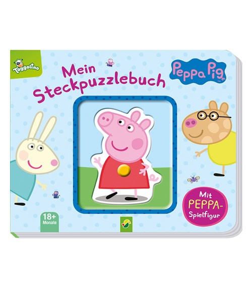 Peppa Pig - Mein Steckpuzzlebuch
