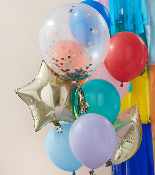 "Ballon-Set ""Rainbow"" - 11-teilig"