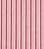 Papierstrohhalme - rosa - 10 Stück