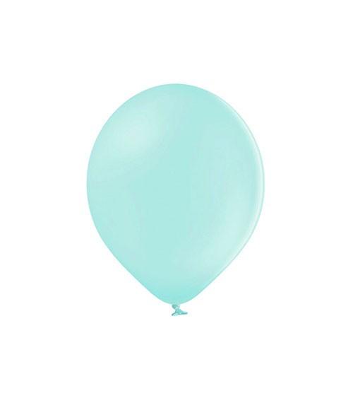 Mini-Luftballons - pastell mint - 12 cm - 100 Stück