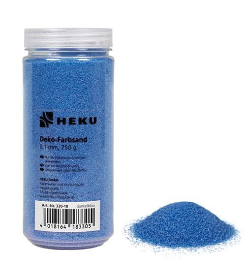 Deko-Farbsand - 750 g - dunkelblau
