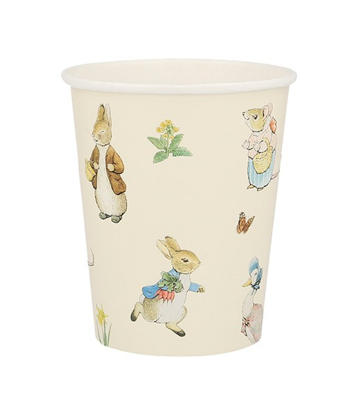 """Pappbecher """"Peter Rabbit"""" - 12 Stück"""
