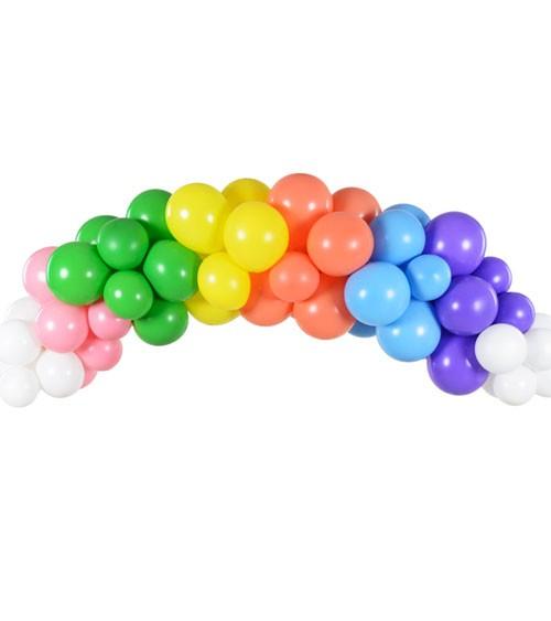"DIY Ballongirlande ""Rainbow"" - 60-teilig"