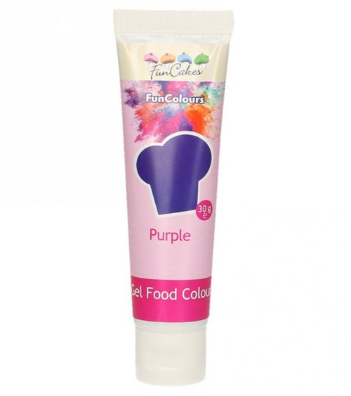 FunCakes Colour-Gel - lila - 30 g