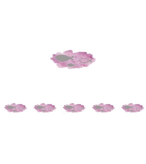 """Washi Tape """"Fische"""" mit Foliendruck - rosa - 10 m"""