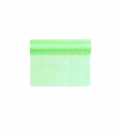 Organza-Tischband - mintgrün - 16 cm x 9 m