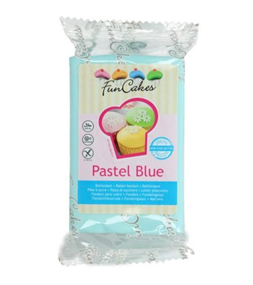 FunCakes Fondant - pastell blau - 250 g
