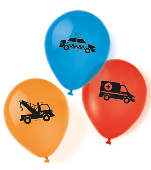 "Luftballon-Set ""On the Road"" - 6-teilig"