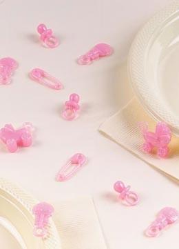 Tischdekoration Für Babyparty Und Taufe
