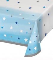 """Kunststoff-Tischdecke """"One Little Star - Boy"""" - 137 x 259 cm"""