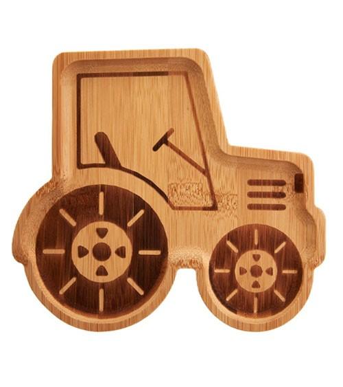 """Bambusteller """"Traktor"""""""