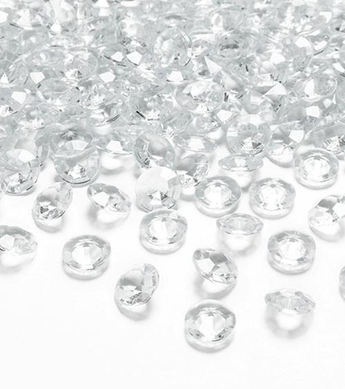 """Streudeko """"Diamant"""" - klar - 100 Stück"""
