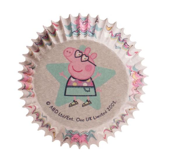 "Cupcakeförmchen ""Peppa Wutz"" - 25 Stück"