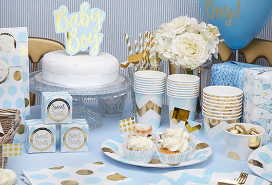 Baby Shower Deko Fur Jungs Deko Serien Babyparty Baby Belly Party
