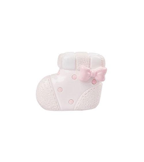 "Deko-Figur ""Baby Girl Schuh"" - 3 cm"