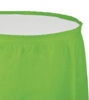 Tischverkleidung - fresh lime - 4,26 m