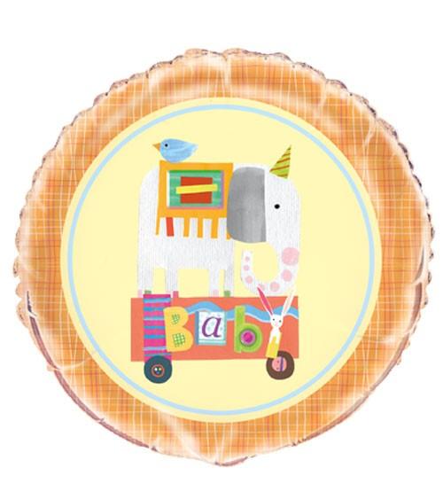 """Folienballon """"Baby Zirkus"""" - 46 cm"""