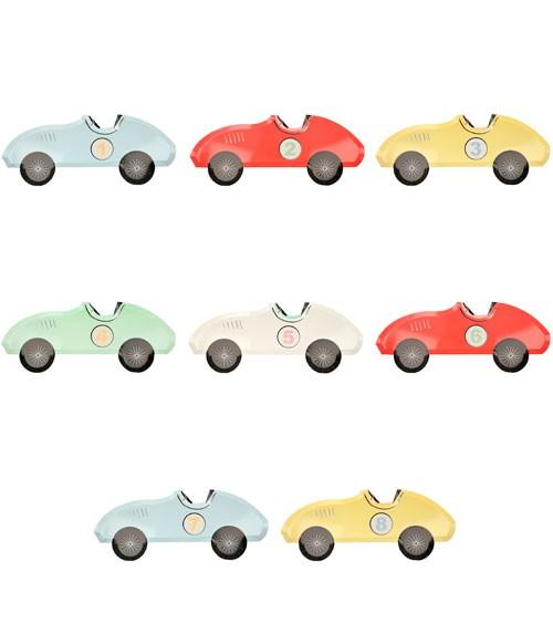 """Shape-Pappteller """"Race Car"""" - 8 Stück"""