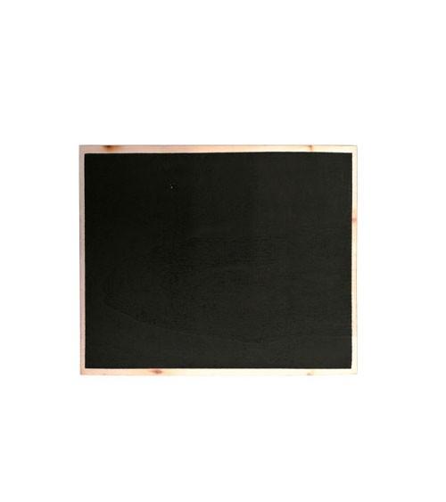 Kreidetafel aus Holz - 10 x 12 cm
