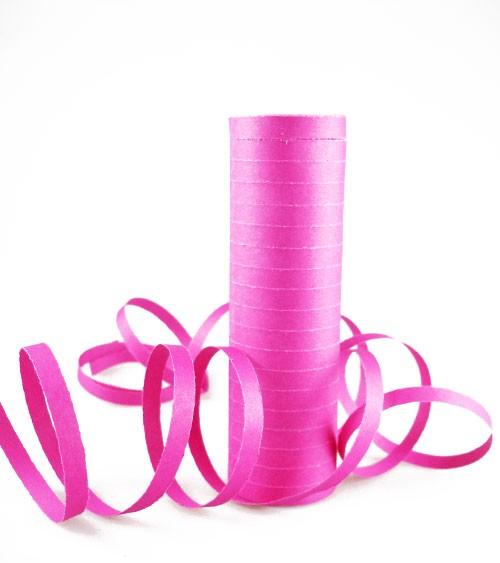 Papierluftschlange - pink