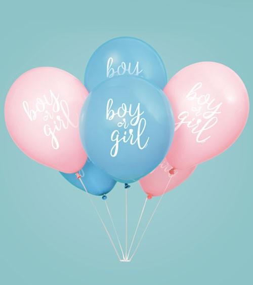 "Luftballon-Set ""Gender Reveal Party"" - 8 Stück"