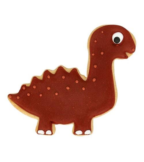 """Ausstechform mit Innenprägung """"Diplodocus"""" - 10 cm"""