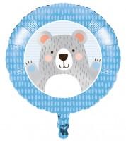 """Runder Folienballon """"Kleiner Bär"""" - 46 cm"""